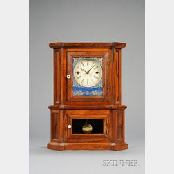 "Rosewood ""Parlor No. 1""  30-Day Fusee Shelf Clock by The Atkins Clock Company"