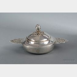 French Silver Covered Ecuelle