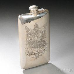William B. Kerr & Co. Sterling Silver Flask