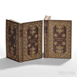 Exhibition Bindings by Zaehnsdorf, 1895, The Poetical Works of Surrey and Wyatt.