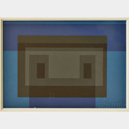 Josef Albers or After (German/American, 1888-1976)      Untitled