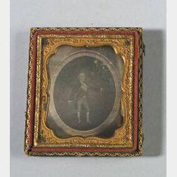 Daguerreotype of a Portrait of George Washington