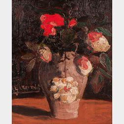 Henri Girardot (French, 1878-1937)      Peonies