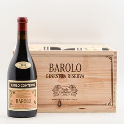 Paulo Conterno Barolo Ginestra Riserva 2010, 6 bottles (owc)