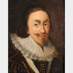 Anglo Dutch School, 17th Century      Portrait of King Charles I