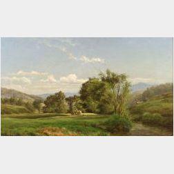 Sylvester Phelps Hodgdon (American, 1830-1906)  Hay Fields