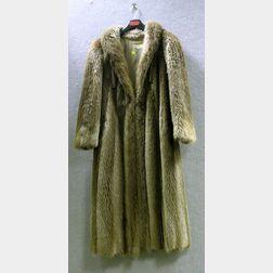 Lady's Full-Length Fox Fur Coat