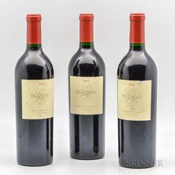 Blankiet Paradise Hills Vineyard Cabernet Sauvignon 2003, 3 bottles