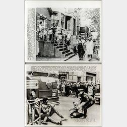Six Civil Rights Press Photographs
