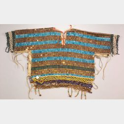 Northern Plains Beaded Cloth Woman's Bodice