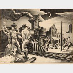 Thomas Hart Benton (American, 1889-1975)      Jesse James