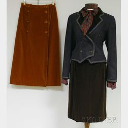 Small Group of Lady's Designer Clothing