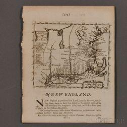 Early New England, Three Maps.