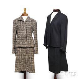Akris and Agnona Wool Suits.     Estimate $400-600