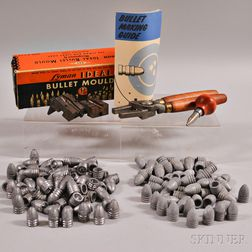Group of .58 Caliber Bullets and a Bullet Mold