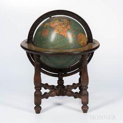 Eight-inch Kittinger Company Terrestrial Globe