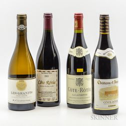Mixed Northern Rhone, 4 bottles