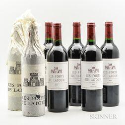 Les Forts de Latour, 7 bottles