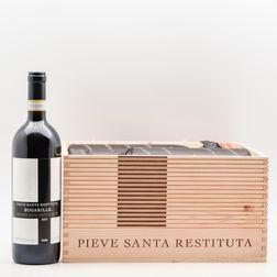Pieve Santa Restituta (Gaja) Brunello di Montalcino Sugarille 2013, 6 bottles (oc)