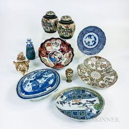 Thirteen Asian Porcelain Items