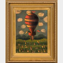 Jean Carrau (French, 1920-1996)      Festival de Ballon