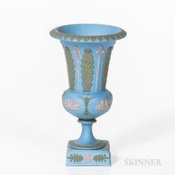 Wedgwood Tricolor Solid Jasper Vase