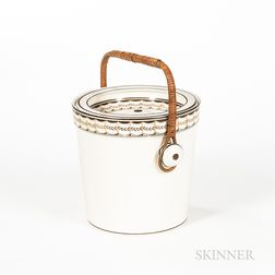 Wedgwood Queen's Ware Slop Pail and Cover