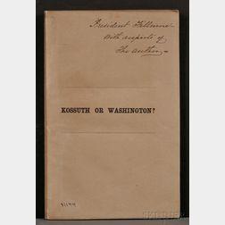 Fillmore, Millard (1800-1874), His copy