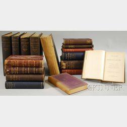 New England History, Seventeen Volumes: