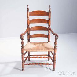 Maple Slat-back Armchair