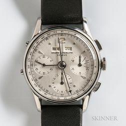 Baume & Mercier Stainless Steel Triple Date Chronograph