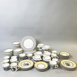 Villeroy & Boch Porcelain Partial Dinner Service.     Estimate $300-500