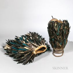 Loma Feathered Dance Costume