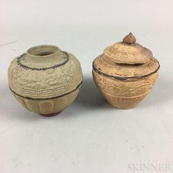 Two Sawankhalok Jars