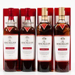 Macallan Classic Cut, 4 750ml bottles (oc)