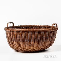 Two-handle Nantucket Basket