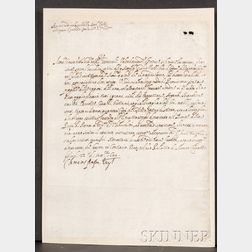 (Papal Document), Pope Clement VIII (1536-1605)