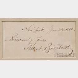 Bierstadt, Albert (1830-1902)