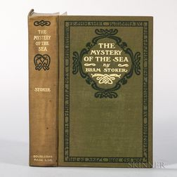Stoker, Bram (1847-1912) The Mystery of the Sea  , Author's Presentation Copy.