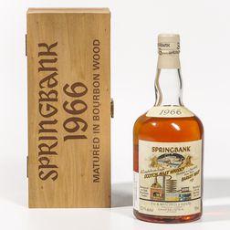 Springbank Local Barley 30 Years Old 1966, 1 750ml bottle (owc)