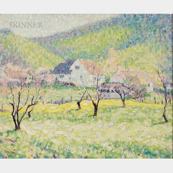 William Henry Clapp (American, 1879-1954)      Early Spring, California Ranch