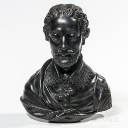 Wedgwood Black Basalt Bust of Spencer