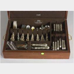 Henry Birks & Sons Sterling Flatware Set