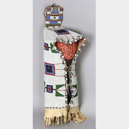 Central Plains Fully Beaded Hide Cradle