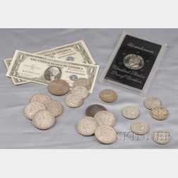 Large Group of Silver and Silver Clad Coins