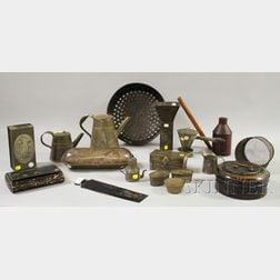 Group of Assorted Tin Kitchenware