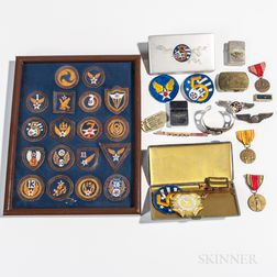 Group of U.S. Army Air Corps Material