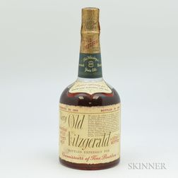 Very Old Fitzgerald 8 Years Old 1950, 1 4/5 quart bottle