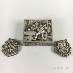 Dutch Silver Box and Buckle