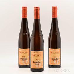 Keller Dalsheim Hubacker Riesling Trocken GG 2015, 3 bottles